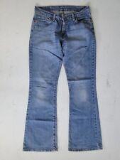 LEVIS 529 Slim Jeans Femmes Pantalon Bleu Stonewashed w29 l32