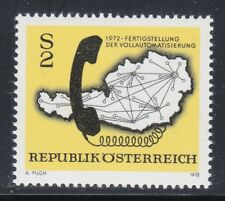 Austria 1972 MNH Mi 1409 Sc 937 Map of Austrian Telephone System