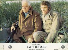 JEAN GABIN  ANDRE WEBER LA HORSE  1970 PHOTO D'EXPLOITATION VINTAGE #4