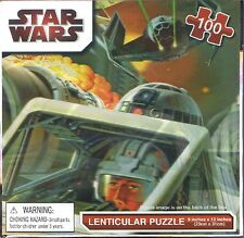 Star Wars X-Wing Fighter 100 pc Lenticular Jigsaw Puzzle
