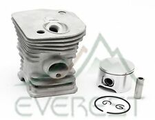 Cylinder Head Piston Kit Fits Husqvarna 340 345 With Rings Pin Clips 42mm (HIGH)