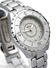 Henley Ladies Matt Silver Grey Modern Watch, Quartz Movement, New & Gift Boxed