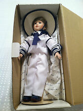 BRAND NEW IN BOX DANBURY MINT COLLECTIBLE PRINCE WILLIAM ROYAL PORCELAIN DOLL