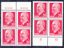 Briefmarken DDR MiNr 935 YxI bess Wz 2x (OR3+UR3)  W.Ulbricht **