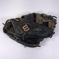 "Wilson A2000 1788 Pro Stock 11.25"" Black/Gray RHT Baseball Glove"