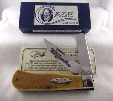 W.R. Case & Sons Classic 19USA92 Tested XX 6223 Jumbo Trapper Knife -Honey Bone
