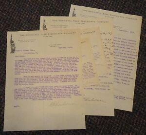 1907 Newark New Jersey German Life Insurance Co letterheads