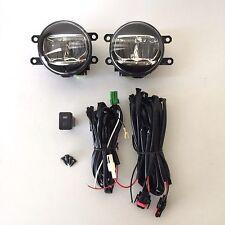For 2008-2011 Toyota Highlander Fog Driving Light Kit Built-in LED with Wiring
