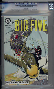 Chris Pedrin's Big Five Information Guide CGC 9.8 NM/MT Only 2 On Census 1995 DC