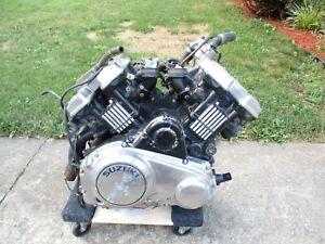1985 Suzuki GV 700 Madura used Motor Engine *Ships Freight*