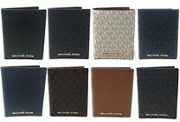 Michael Kors Jet Set Travel Passport Case Leather Signature Wallet Credit Card