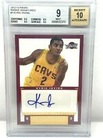 2012-13 Panini Rookie Signatures #1 🔥 Kyrie Irving 🔥 RC Auto BGS 9 📈Cavs Nets