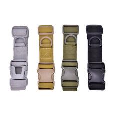 Tactical Sport Belt Plastic Buckle Military Adjustable Outdoor Waistband Wai%f