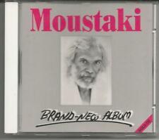 "Georges Moustaki ""Brand New Album"" Limited 24 Karat GOLD CD 1988/Germany"