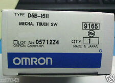 1pc Omron Tactile Touch Switch D5B-1511 NEW IN BOX