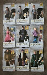 """HARRY POTTER 12"""" 30 cm FIGURE DUMBLEDORE McGONAGALL RON WEASLEY or HERMIONE DOLL"""