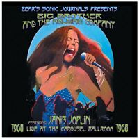 CD Big Brother & the Holding Company- live at the carousel ballrom 1968  886