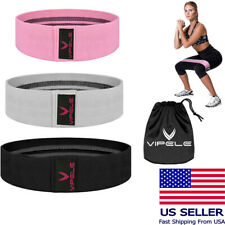 VIPELE Hip Resistance Band Circle Loop Workout Warmups Squats Mobility Stretchin