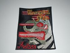 MERCYFUL FATE MELISSA  EMBROIDERED PATCH