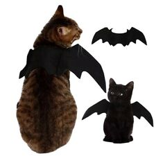 Cute Halloween Cat Costume Small Pet Cat Bat Wings