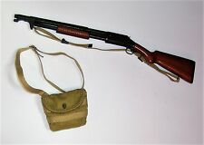 A échelle 1/6th WW1 U.S. Army Pompe Action Shotgun & Cartouche Sac-Buck