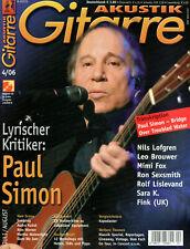 Akustik Gitare Juli / August Paul Simon