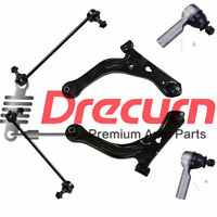 6 Lower Control Arm Ball Joint Tie Rod Sway Bar Link For Ford Escape Tribute