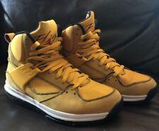 Nike Air Flight High Top Shoes Miami Heat. Dwyane Wade. Rare Yellow. Size 9.5