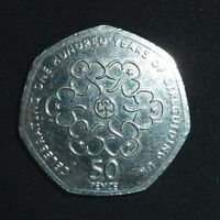 2010 celebrating 100 years of Girl guiding 50p coin