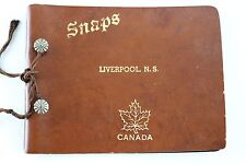 "Liverpool Nova Scotia N.S. ""SNAPS"" School Collectibles Picture Memory Book"