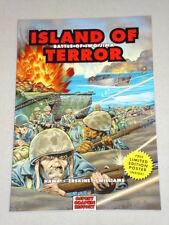 ISLAND OF TERROR BATTLE OF IWO JIMA GRAPHIC NOVEL HAMA 9781846030550