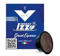 200 CAPSULE CAFFE IZZO MISCELA GRAND ESPRESSO COMPATIBILI LAVAZZA A MODO MIO
