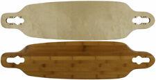 "Moose Longboard 9"" x 36"" Drop Through Deck Bottom Bamboo Bamboo"