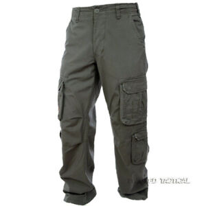 Max Fuchs Pure Trash Defense Mens Combat Cargo Trouser Army Military Pants Olive