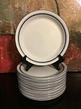 """1 Dansk Bistro Christianshavn Cobalt Blue Rim 8.75 """" Salad Plates Portugal"""