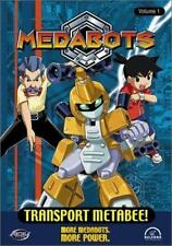 Medabots Vol. 1: Transport Metabee! (DVD, 2002) WORLDWIDE SHIP AVAIL!