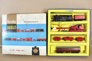 HORNBY DUBLO 2049 BREAKDOWN TRAIN SET BR 0-6-2 CLASS N2 LOCOMOTIVE BOXED nx