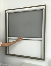 Retractable Window Flyscreen for Serving Window 1500mmH/1500mmW White Fly Screen