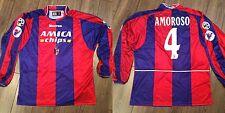 Maglia match worn shirt Bologna calcio Christian Amoroso indossata Serie A