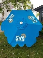 PALM BREEZE ALCOHOL DRINK MIKES HARD LEMONADE BEER OUTDOOR PATIO UMBRELLA NEW
