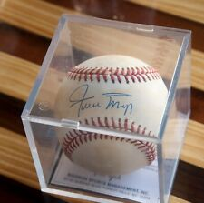 Willie Mays Autographed Baseball with Certificate of Authenticity