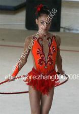 Stylish rhythmic gymnastics leotard.Acrobatic gymnastic competition Baton Custom