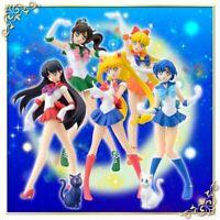 Sailor Moon Figure Mascot 7 Set HGIF Japan Original Limited Goods Cute Gift Rare