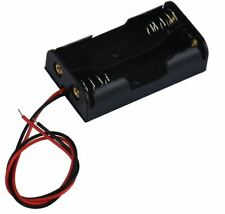 AA Battery Holder, 2 x AA with wire tails. . . . NEW