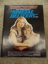 SPECIAL DELIVERY(1976)CYBILL SHEPHERD GREAT SHAPE!