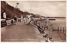 DOVERCOURT BAY ESSEX UK LOWER PROMENADE & SANDS POSTCARD c1948