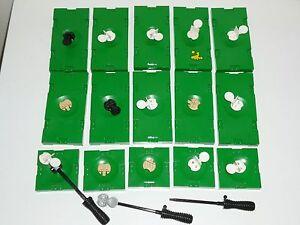 lotto 15 Piastre LEGO n.10 20x10 n.5 10x10 Sport LEGO RARE pezzi DI VALORE SP1