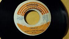 "Bobby &The Melodies - Cheer Up /Reggae 45"" onMusical Ambassador  Label Orig"