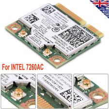 Wireless Card Fit for Intel 7260AC 802.11AC Dual Band Bluetooth 4.0 WiFi  PCI-E
