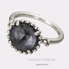 Authentic Pandora Silver Midnight Star Blue Crystal Ring Size 56 (7.5) 190910NBC